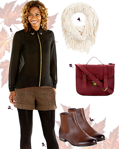 Autumn Florence & Fred Outfit