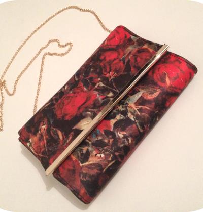 New Look: Silk Rose Clutch