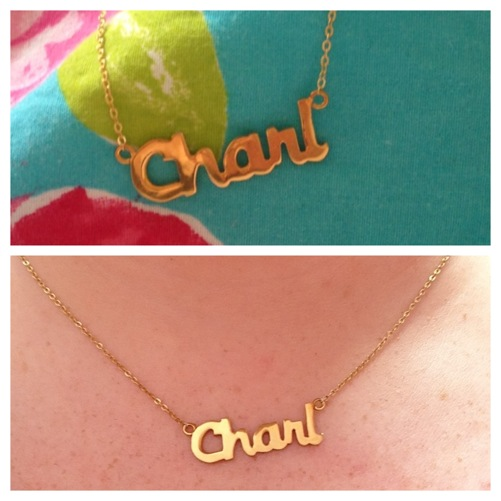 thecharlnecklace
