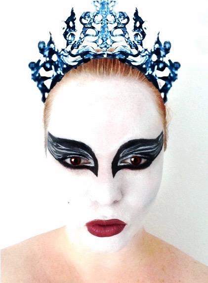 Odile black swan stage makeup tutorial | kathryn morgan youtube.