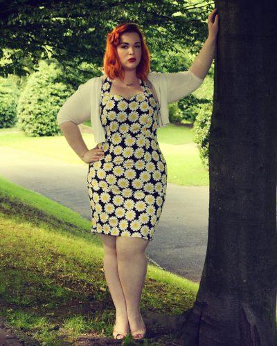 The Halter Neck Vintage Dress