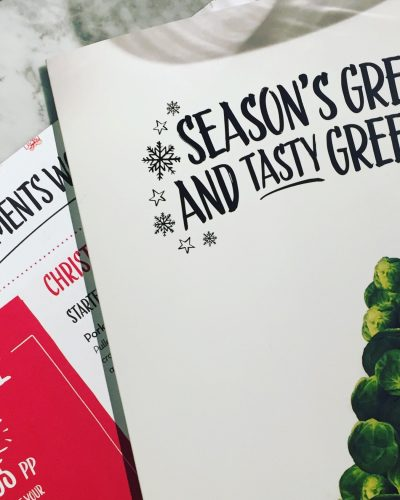 Pizza Express Christmas Menu| Stoke-on-Trent