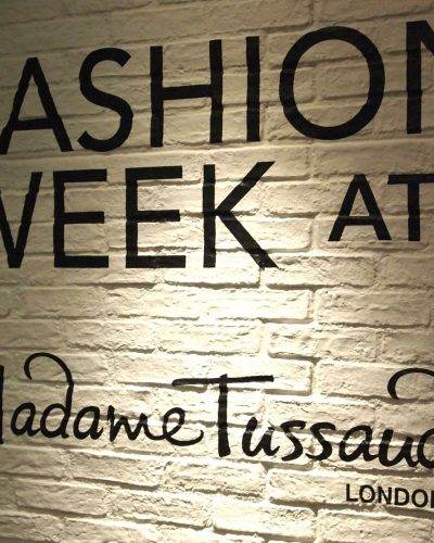 Madame Tussauds Fashion Week | Wax #CaKe