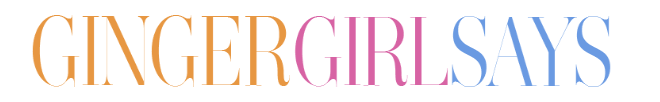 Ginger Girl Says | UK Lifestyle, Plus Size Fashion & Beauty Blog